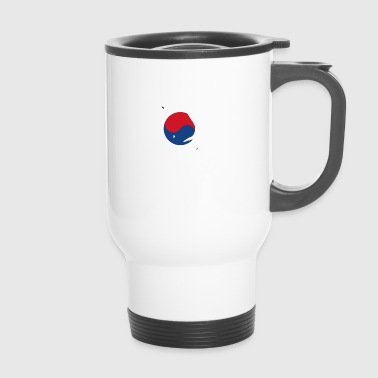 take a knee football Suedkorea png - Thermobecher