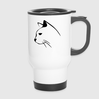 Poussins chat chats chat chats - Mug thermos