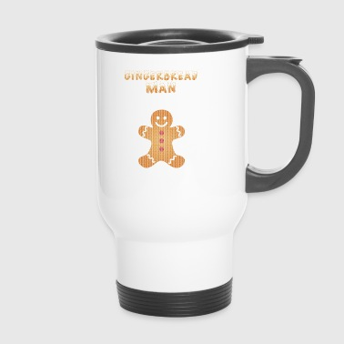 Ugly Christmas Christmas Partner Shirt Gingerbread - Travel Mug