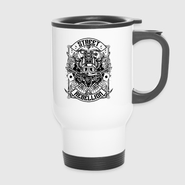 Street Rebellion Motorcycle s - Travel Mug