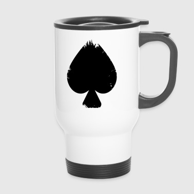 Spades vector - Travel Mug