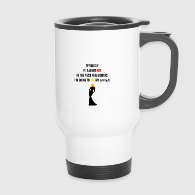 Je vais poursuivre mes parents - Mug thermos