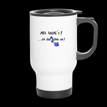 Granny's grandparents say baby spell sayings - Travel Mug