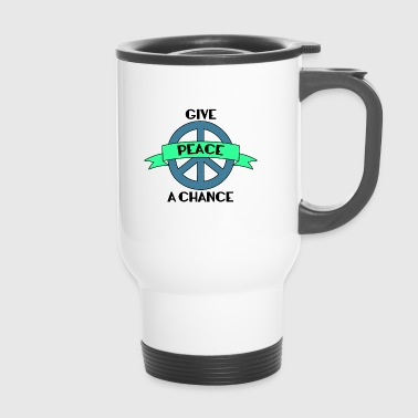 Hippie / Hippies: Give Peace A Chance - Mug thermos