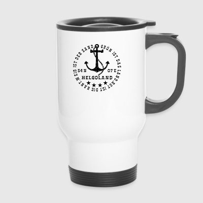HelgolandLogo_Anker_black_hollow - Mug thermos