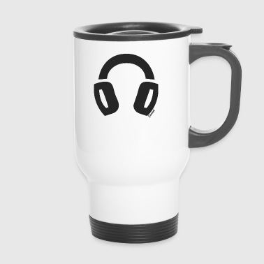 Casque Audio (F) - Mug thermos
