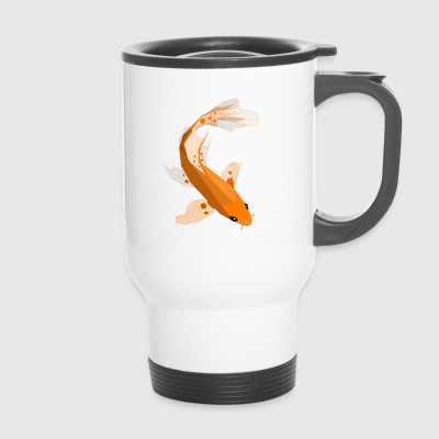 Geometric Koi - Thermobecher