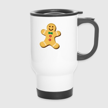 gingerbread man - Travel Mug