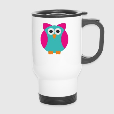 owl - Travel Mug