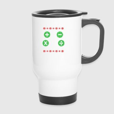Math Ugly Christmas Gift - Travel Mug