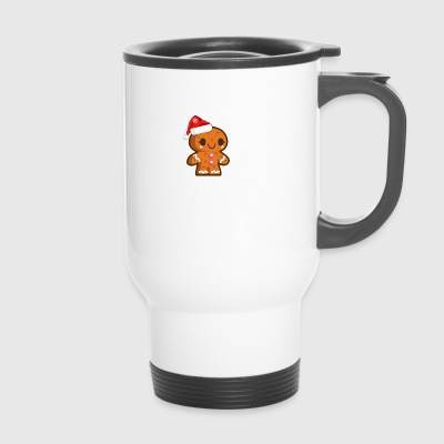 Gingerbread Christmas t-shirt gift - Travel Mug