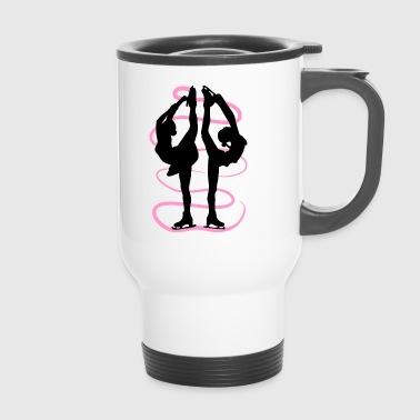 Figure skating Ice skating Ice dance figures - Travel Mug