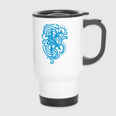 mandala ornament - Travel Mug