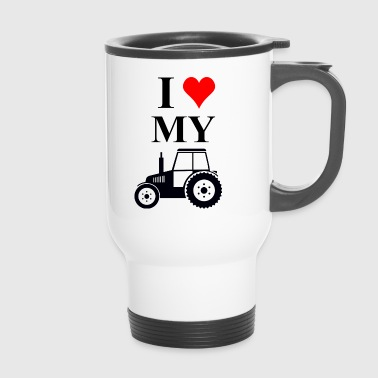 I love my tractor - Travel Mug