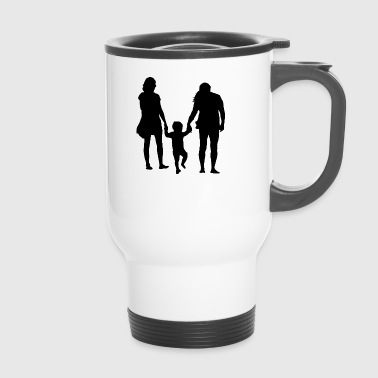 Parents with child - Travel Mug