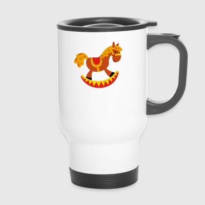 rocking horse - Travel Mug