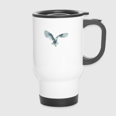 barn owl - Travel Mug