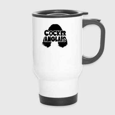 Cocker Anglais Silhouette - Mug thermos