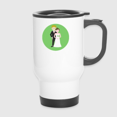 wedding - Travel Mug