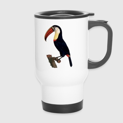 Toucan Tukane Birds Voegel Animal Tiere - Thermobecher