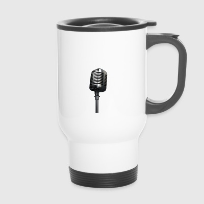 Microphone - Travel Mug