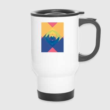 square and shadow - Travel Mug