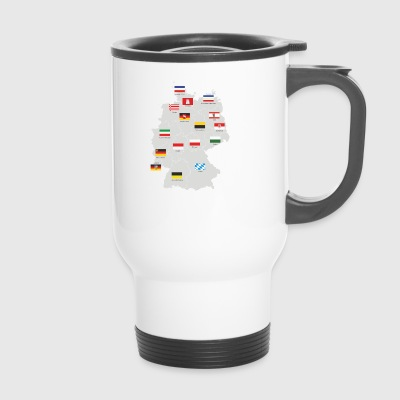 Germany map - Travel Mug