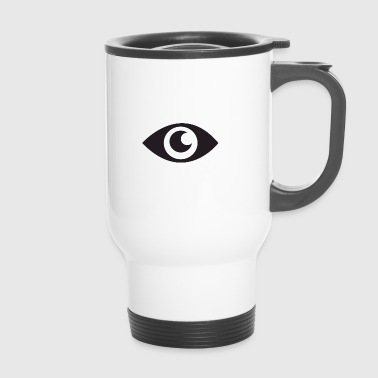 the eye that does not see - Travel Mug