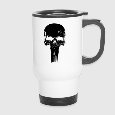Skull long - Thermobecher