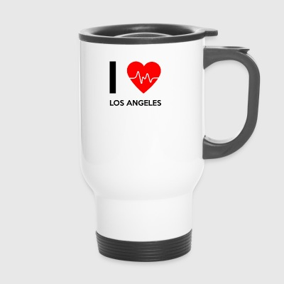 J'aime Los Angeles - J'adore Los Angeles - Mug thermos