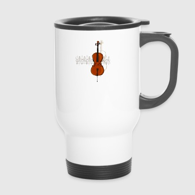Cello Design 2 dunkel - Thermobecher