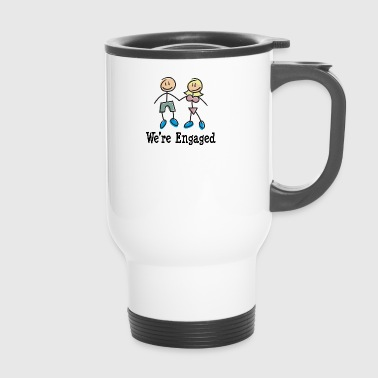 We're Engaged - Travel Mug