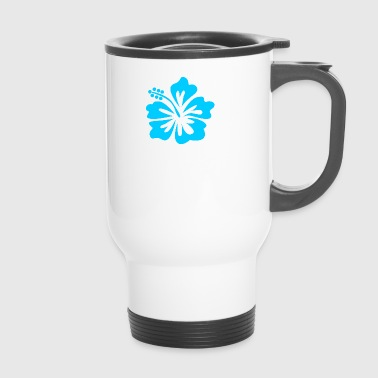 Blue flower - Travel Mug
