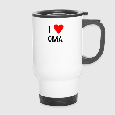I Love Grandma - Travel Mug