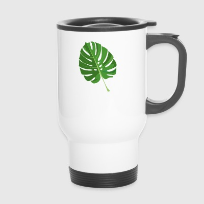 feuille tropical - Mug thermos