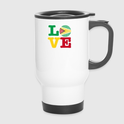 GUYANA HEART - Travel Mug