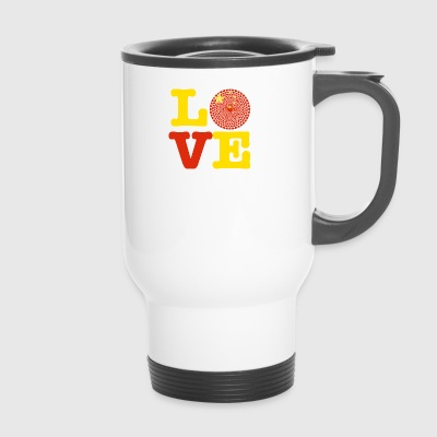 China heart - Travel Mug