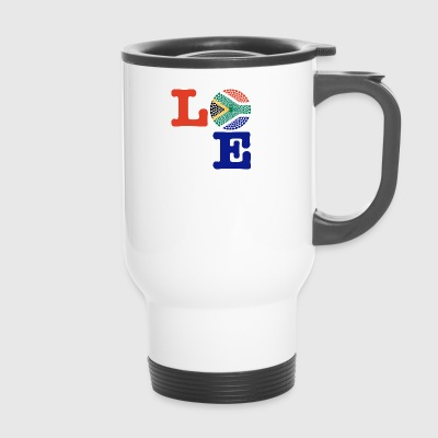 SOUTH AFRICA HEART - Travel Mug