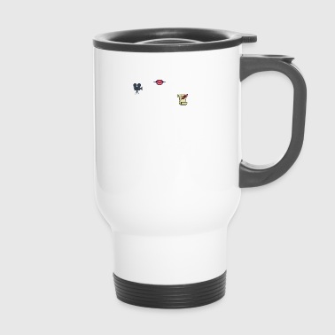 Je parle couramment - Mug thermos
