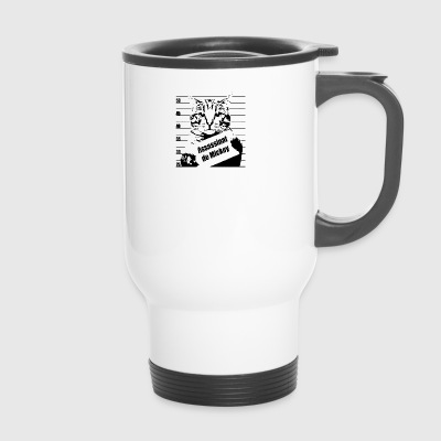 chat wanted - Mug thermos