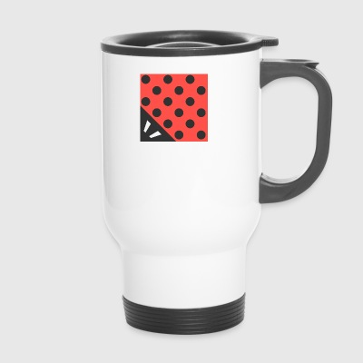 Marienkäfer - square - Travel Mug