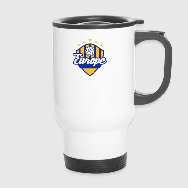 Football Crest Of Europe - Mug thermos