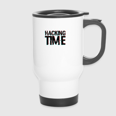 HACKING TIME HACKER - Travel Mug
