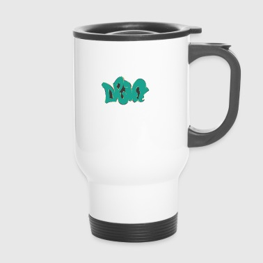 drift graffiti green - Travel Mug