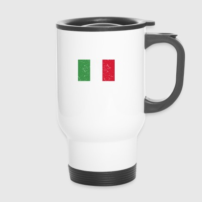 Sailboat - Flag - Italy - Travel Mug