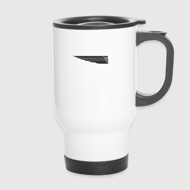 Eagle wing lung - Travel Mug