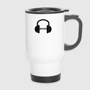 Music wave - Travel Mug