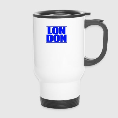 LON DON Logo Blau - Thermobecher