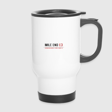 Mile End Street Sign - Travel Mug