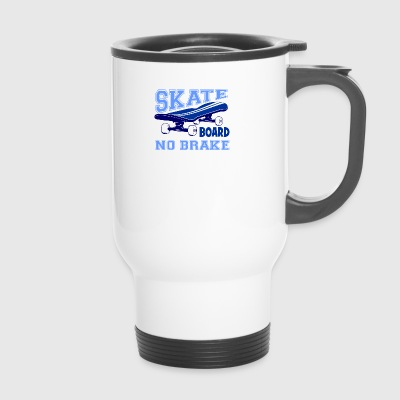 tshirt-skate4 - Travel Mug